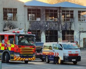 Emergency services rushed to the High Flyers building on the corner of The Square and Main St on...