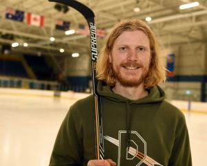 Dunedin Thunder veteran Paris Heyd has retired from competitive ice hockey. PHOTO STEPHEN JAQUIERY