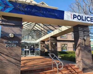 Dunedin police station. Photo: ODT files