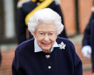 The Queen at an event at Windsor Castle earlier this month. Photo: Reuters