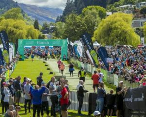 The Queenstown Marathon can only go ahead under Alert Level 1. PICTURE: ROSS MACKAY