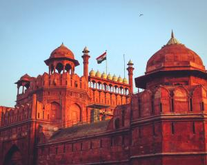"""A film will be released at the Mughal-era Red Fort in New Delhi around noon to """"celebrate the..."""