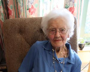 Gore's Resthaven Care Home resident Eleanor Logan celebrates her 100th birthday today. PHOTO:...