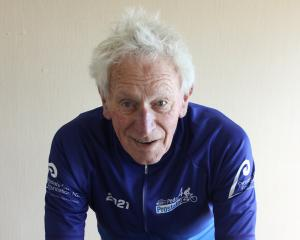 Invercargill retiree Peter Grandiek  is planning a four-hour fundraising cycle ride  on his 90th...
