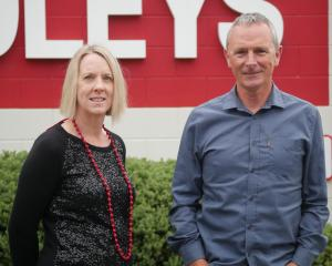Foleys marketing manager Tracy Pleasants and director Chris Sutherland. PHOTO: JESSICA WILSON