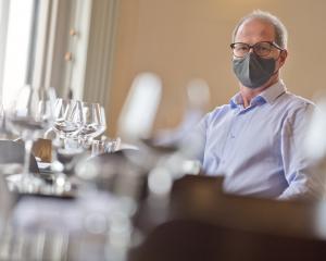 Bacchus Wine Bar and Restaurant owner Stephen Hannagan, of Dunedin, believes a drop to Alert...