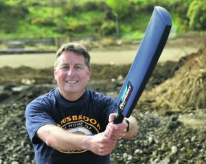 Placemakers Dunedin branch operator Justin Macready says the ashes of cricket great Bert...