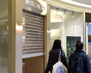 Witchery's former site in the Meridian Mall sits empty. PHOTO: PETER MCINTOSH