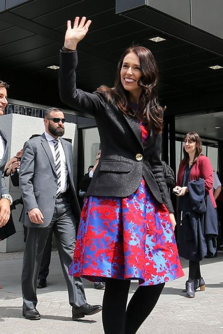 Ardern's advisors would not give details but confirmed Ardern's wardrobe for the photo shoot...