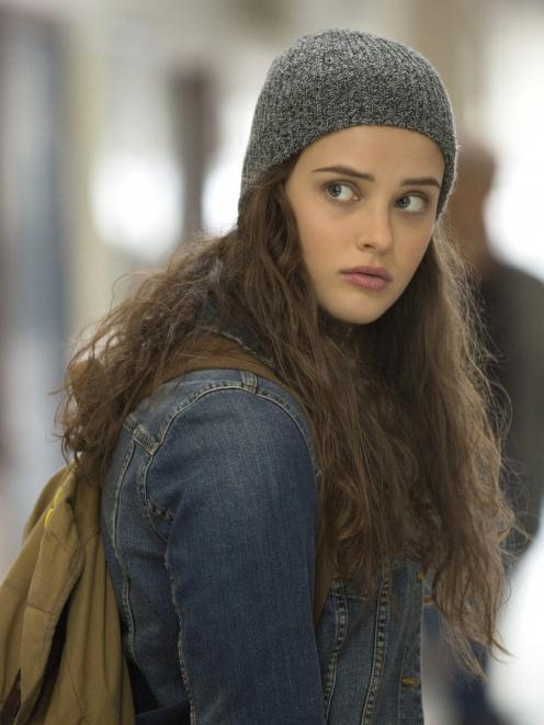 Katherine Langford plays the part of Hannah Baker, who takes her own life in the first series....