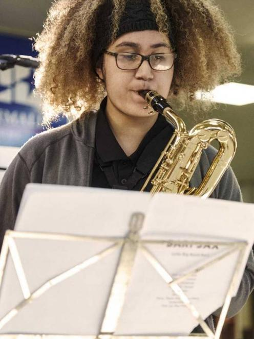 Edyn was a talented saxophone player, her school principal said. Photo: Supplied via NZ Herald