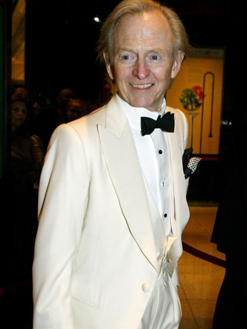 Tom Wolfe's trademark was the white suit. Photo: Reuters