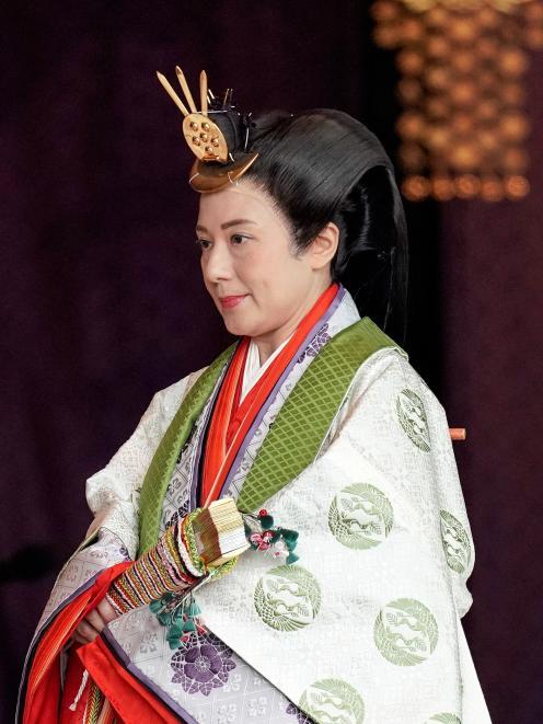 Empress Masako. Photo: Reuters