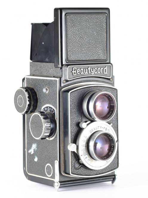 """A """"Beautycord"""" camera dating from the late 1950s is one of the heritage items at the museum...."""