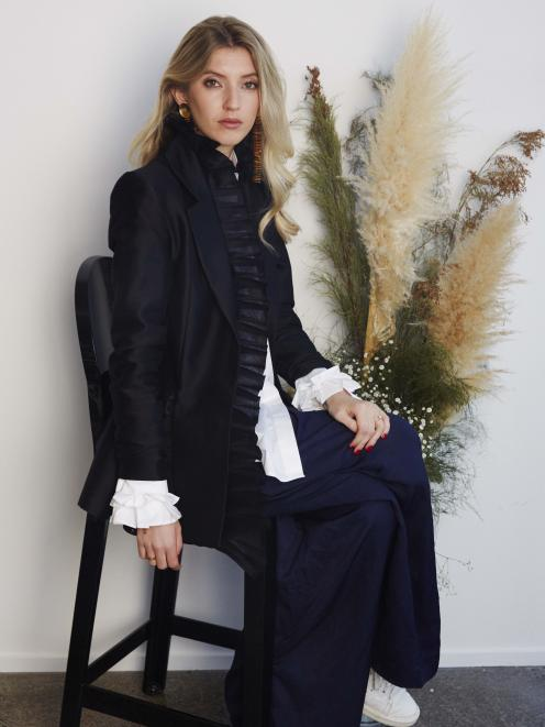 Designer Maggie Hewitt has achieved a rapid trajectory with her label Maggie Marilyn. PHOTO: NZME