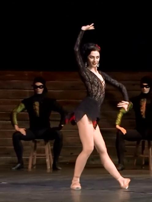 Anna Pashkova  as Carmen. Image: YouTube