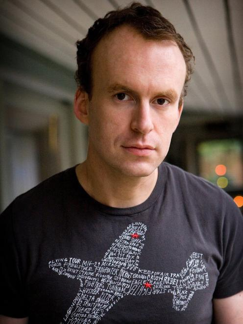 British author and journalist Matt Haig. Photo: Clive Doyle