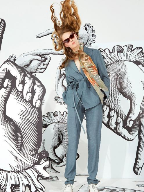 Karen Walker aria jacket