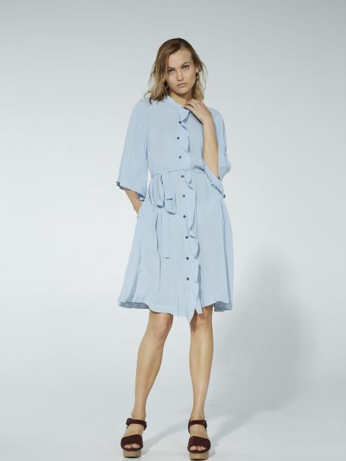Ingrid Starnes Violetta shirt dress