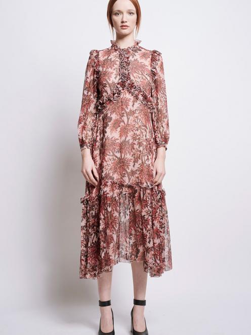 Karen Walker Fantasy Maxi Dress