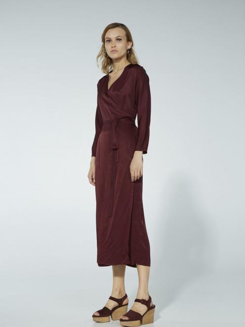 Ingrid Starnes wrap dress