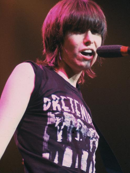 Chrissie Hynde performing in London in 1981. Photo: Getty Images
