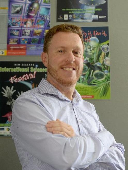New Zealand International Science Festival director Dan Hendra. PHOTO: ODT FILES