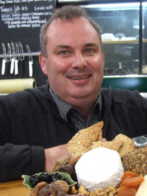 Whitestone Cheese chief executive Simon Berry. Photo: ODT