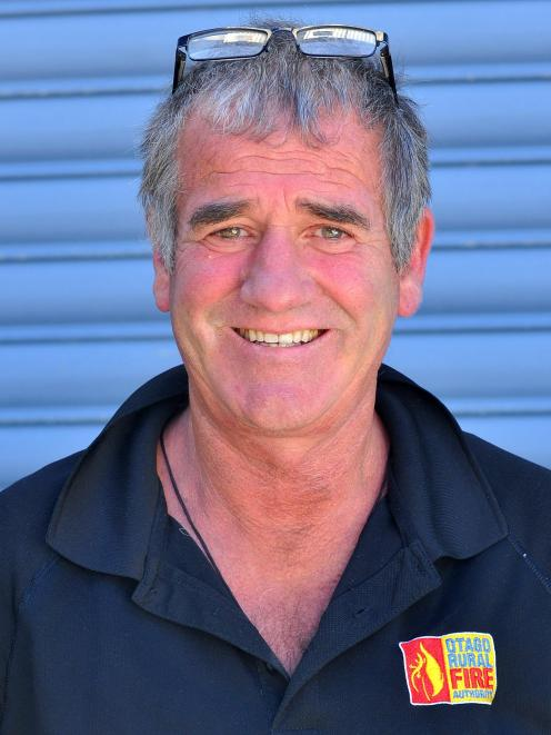 Graeme Still, principal rural fire officer, Otago. Photo: Supplied