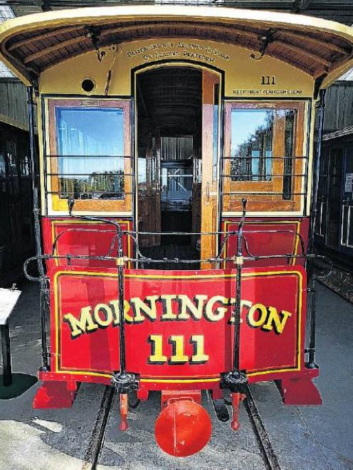 Sights to see . . . The Town Belt Traverse route will go past the cable car museum in Mornington...