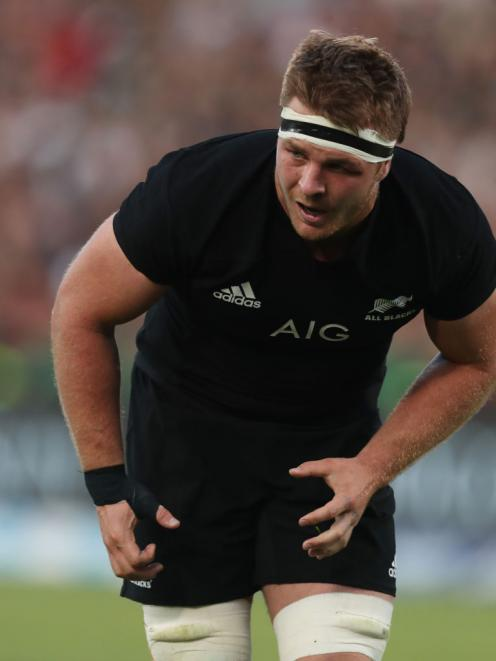 Sam Cane's season is finished after suffering a neck fracture in Pretoria. Photo: Getty Images