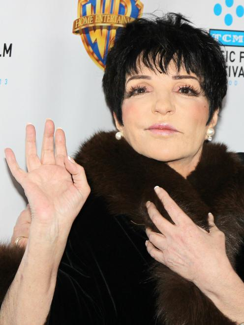 Liza Minnelli said earlier this year she wanted to downsize her life. Photo: Getty Images