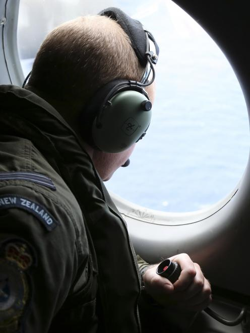 Teams including from the Royal New Zealand Air Force scoured the Indian Ocean for any signs of...