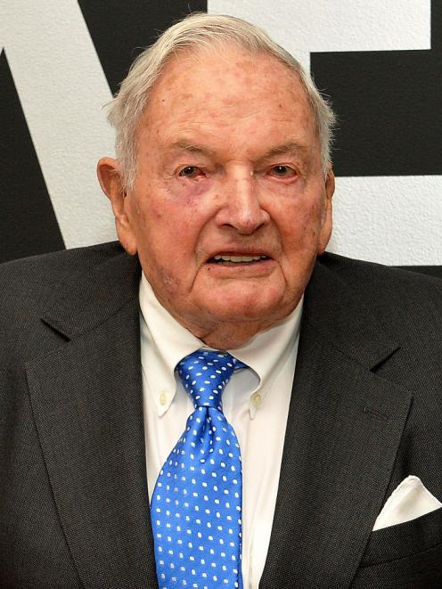 David Rockefeller. Photo: Getty Images