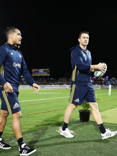 Star players Aaron Smith and Ben Smith were rested in the Highlanders' match against the Rebels...