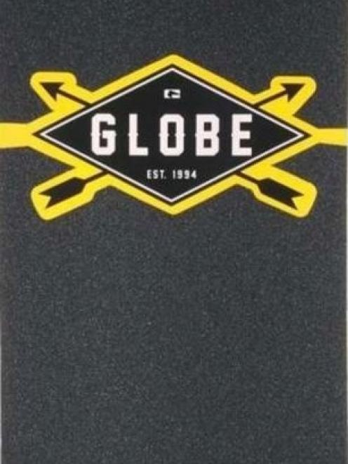 The woman may have had a black Globe-brand longboard with her like this. Photo: NZ Police