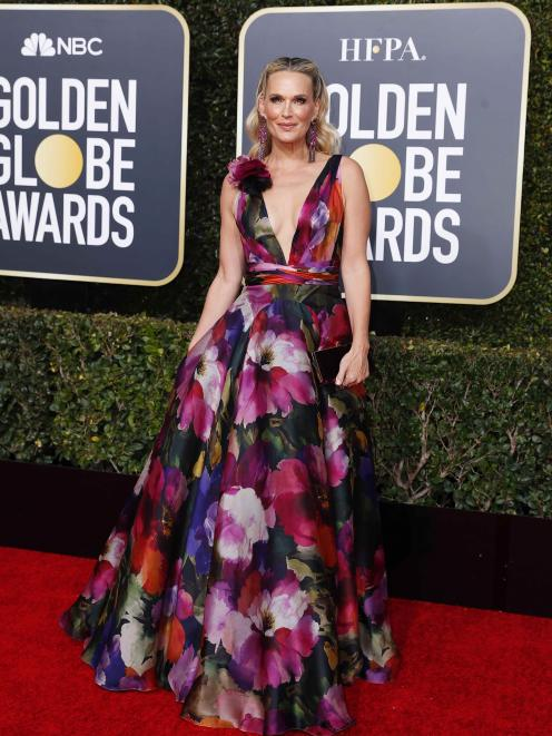 Molly Sims. Photo: Reuters