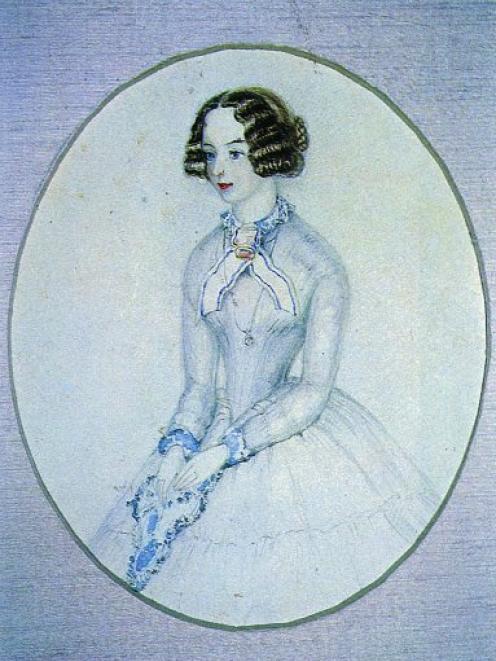 Charles Heaphy's painting of his girlfriend. Photo: Dunbar Sloane catalogue, 17/18 November 1986