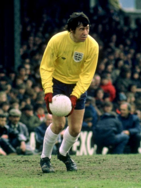Gordon Banks won his first England cap in 1963. Photo: Action Images - MT1ACI1288064 via Reuters