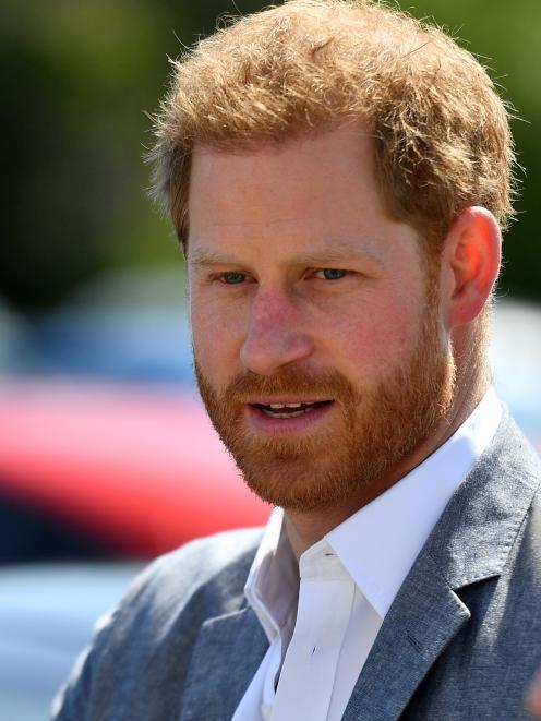 Prince Harry. Photo: Reuters