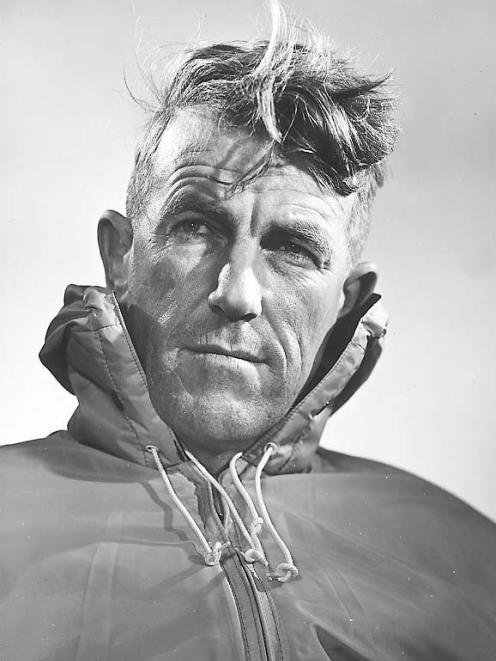Sir Edmund Hillary. Photos: ODT Files