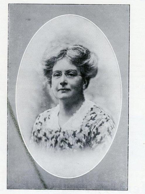 Jean Burt in 1915. Photo: supplied
