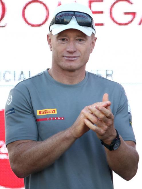 Luna Rossa co-helmsman Jimmy Spitall was gracious in defeat. Photo: Getty Images