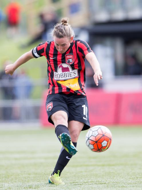 Annalie Longo started the season as Pride captain, but is currently playing professionally for...