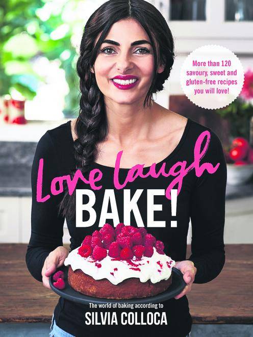GET IT: Love Laugh Bake, by Silvia Colloca, published by Pan Macmillan Australia, RRP $39.99