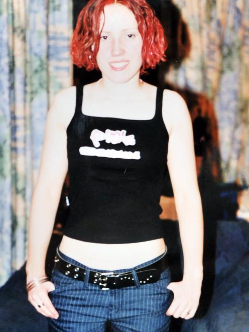 Mandie Watson's first Pink concert in 2002. Photo: ODT