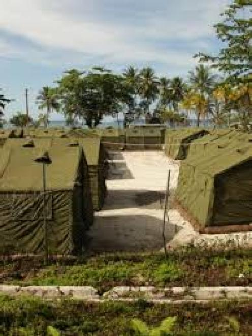 The detention centre on Manus Island. Photo: Getty Images