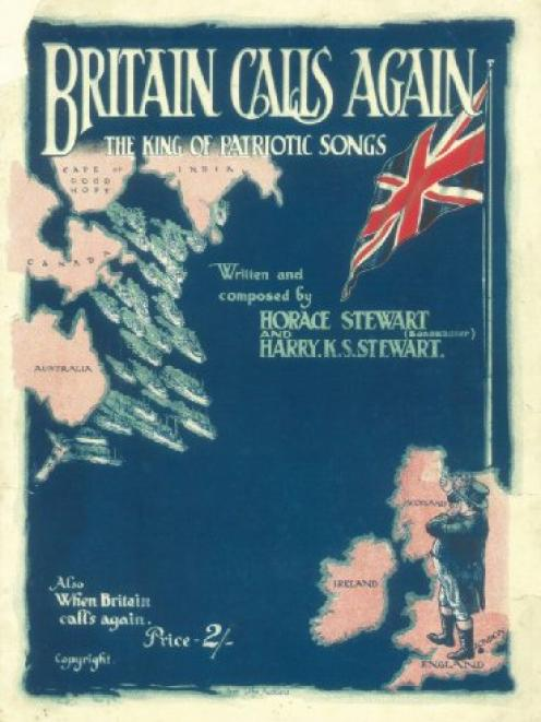 Britain Calls Again: the King of Patriotic Songs, by Horace and Harry Stewart