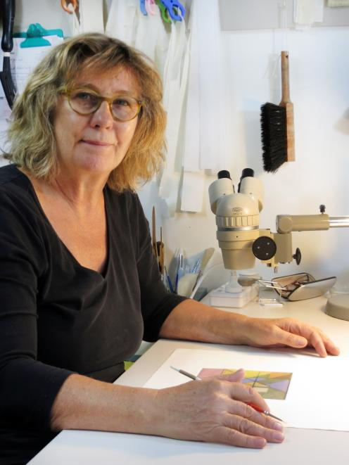 Private paper conservator Marion Mertens. Photo: Supplied