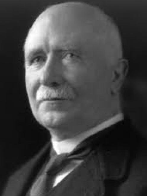Prime Minister William Massey. Photo: Wikipedia